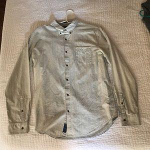 Lucky Brand True Indigo Long Sleeve Shirt Large